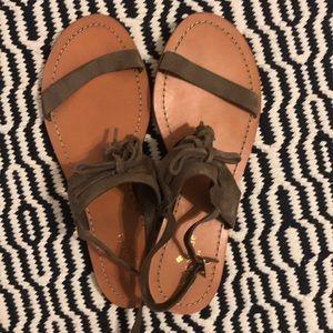 Kate Spade Fringe Sandals